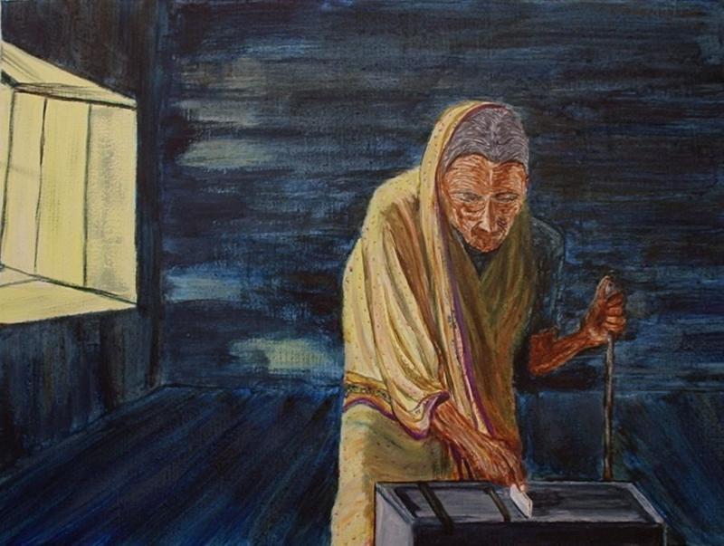 Αποτέλεσμα εικόνας για democracy painting